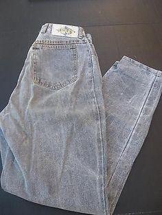 vintage 1980's Bongo stonewash faded black jeans size 29