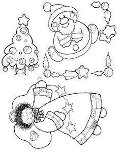 Natal - Desenhos para Colorir - Pra Gente Miúda#