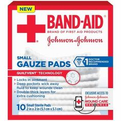 Wow! Get BAND-AID Gauze Pads Only $0.35 At Rite Aid After BOGO 50% Off Sale, Printable Coupon, and Plenti Points Rewards!