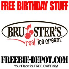 BIRTHDAY FREEBIE – Bruster's Real Ice Cream - FREE Waffle Cone
