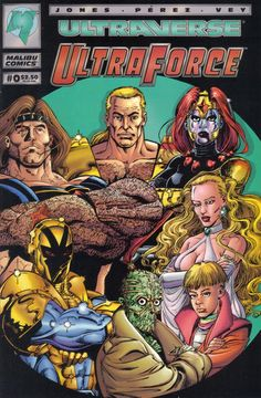 UltraForce #0 (1994 series) - cover by George Perez