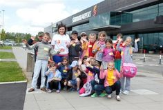 148 Chernobyl Children arrive at Shannon Airport to meet their host families - June 2012