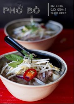 Pho (Vietnamese Beef Soup) | Long Quick and Express Versions | Wholesome Cook