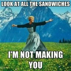 No sandwich for you.