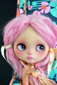 Zara Custom Blythe Doll by AnythingForTheGirl on Etsy