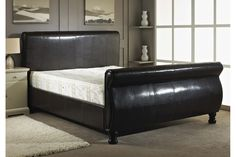 Sleigh Bed Frame Replacement Parts