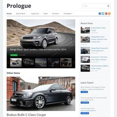 Prologue is a modern and responsive, touch enabled magazine style WordPress theme designed to display your content in an elegant and sophisticated way.
