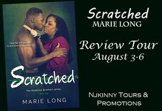 """Charulatha Jain of Random$ blog recommends SCRATCHED by @MarieLongAuthor """"to those who are fond of stories involving romance, simple language and light story heavy on relationships. ..."""" Read her complete #BookReview + Enter #Giveaway to win a beautiful custom-made bracelet! Open INT :)  http://crazythingymylify.blogspot.in/2015/08/the-book-scratched-has-been-reviewed-as.html  #NjkinnyToursPromo #ReviewTour #BookBlog #Romance #NewAdult #NewRelease #Recommended"""