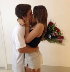 •Pinterest : @vandanabadlani• Elegant romance, cute couple, relationship goals, prom, kiss, love, tumblr, grunge, hipster, aesthetic, boyfriend, girlfriend, teen couple, young love image