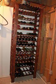 Between 3 Sisters: DIY Build Your Own Wine Rack