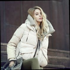 52.71$  Buy here - http://alid8a.worldwells.pw/go.php?t=32748824686 - Fashion Down Jacket Women Winter Coat 2016 new Fashion Thick Lady White Duck Down Garment With Hood Warm thicking coat 3 color 52.71$
