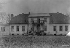 Groß Schwaraunen, Herrenhaus - Parkseite