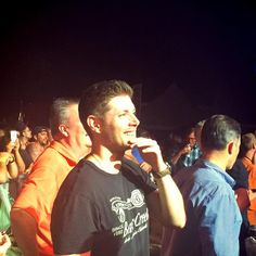 "jackles1: ""  Jensen Ackles at ""Austin City Limits"" Music Festival (10/02/2015) [х] """
