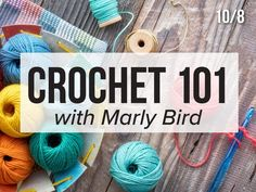 Introducing FaveCrafts Studio LIVE! Sign up for our sister site's online crafting classes today. The first one is crochet for beginners hosted by the talented Marly Bird on 10/8/20 ❤️🧶