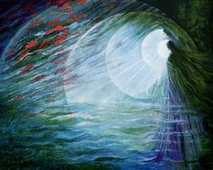 BREATH OF DAWN - there is a sense of something starting.... Rassouli painting..