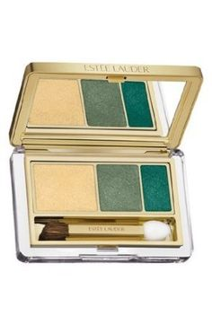 ESTEE LAUDER Pure Color Instant Intense Eyeshadow Trio 09 CAMO CHROME *** Want additional info? Click on the image.