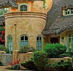 Daisy Pink Cupcake: The Fairytales Of Carmel Cottages: Rapunzel House
