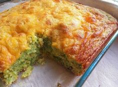 Broccoli Cheese Cornbread Recipe | Just A Pinch Recipes