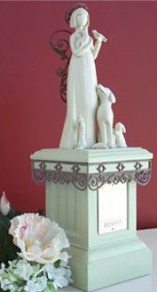 Small Gentle Spirits Garden Statue   #memorials #sympathygifts #memorialgifts #sympathyquotes #condolencegifts #expressingsympathy #grief   http://www.thecomfortcompany.net/