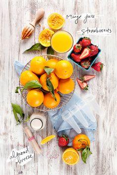 STRAWBERRY ORANGE POPSICLE RECIPE | D E S I G N L O V E F E S T