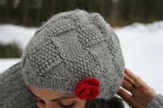 Ravelry: Entrelac Winter Hat pattern by Amanda Lilley