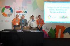 """Termatalia expuso su ponencia sobre """"Tendencias de Turismo de Bienestar en Europa y América en el Tianguis Turístico de México"""""""