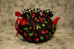 Gift idea - teapot cozy to keep your tea warm! Sold at Louisville Tea Company