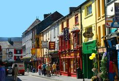 It is little wonder that Killarney was awarded Ireland's tidiest town in 2011; this town is a virtual kaleidoscope of colourful shop fronts and pretty floral displays. Description from killarneyconventioncentre.ie. I searched for this on bing.com/images