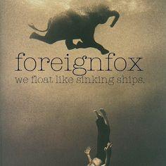 """FOREIGNFOX gründeten sich erst Ende 2013 und legen mit """"We Float Like Sinking Ships"""" bereits jetzt eine EP vor, die richtig aufhorchen lässt. Ab sofort gibt's die fünf Songs davon auch im #Stream. http://whitetapes.com/streams/foreignfox-debut-ep-we-float-like-sinking-ships-im-stream"""