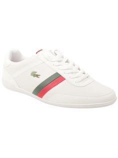 524bb1bbc39fc Look sporty fresh while maintaining the height of comfort in these clean  leather sneakers by