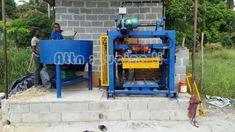 manual operate hollow block making manual block machine Solid Brick, Making Machine, Manual, Textbook