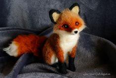 Red fox for S. by SaniAmaniCrafts.deviantart.com on @DeviantArt