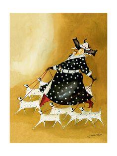 Dollnation Lámina giclée por Jennifer Garant en AllPosters.com.mx