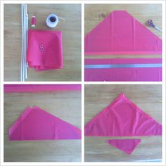 How to make a delta kite 1