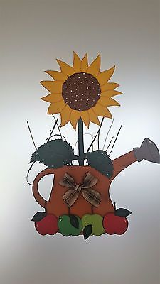 Window picture sunflower in the watering can - autumn - decoration - cardboard! - Window picture sunflower in the watering can – autumn – decoration – cardboard! Autumn Activities, Preschool Activities, Fall Crafts, Halloween Crafts, Diy For Kids, Crafts For Kids, Thumbprint Tree, Guest Book Tree, Wooden Cutouts