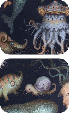 Stworzenia z kaprysu-Vladimir Stankovic morza, poprzez Behance