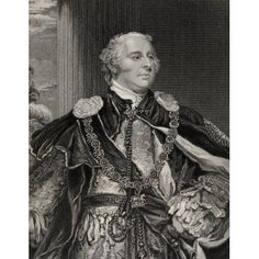 John Jeffreys Pratt 2Nd Earl And 1St Marquis Of Camden 1759-1840 Engraved By GAdcock After J Hoppner From The Book National Portrait Gallery Volume I- Published 1830 Canvas Art - Ken Welsh Design Pic