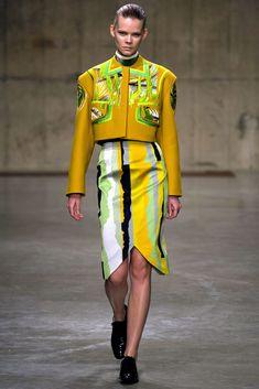 Peter Pilotto Fall 2013 Ready-to-Wear Fashion Show - Irina Kravchenko