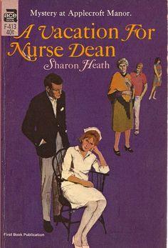 A Vacation For Nurse Dean Sharon Heath 1966 PB 1st by denalynn2001, $1.75