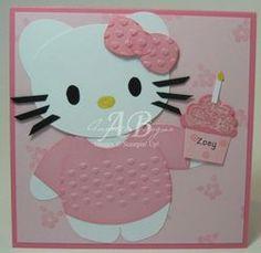 Hello Kitty Punch Art