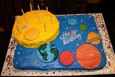 Galaxy cake