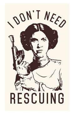 Star Wars Movie Poster Princess Print Inspirational Movie Quote Fun Funny Classic Strong Woman Motivational - Star Wars Princesses - Ideas of Star Wars Princesses - Star Wars: Princess Leia Poster Print I don't by MusicAndArtCoUSA Star Wars Poster, Poster S, Poster Maker, Poster Ideas, Princesa Leia, Last Of Us, Leia Star Wars, Star Wars Meme, Star Citizen
