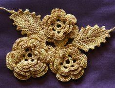 irish crochet patterns free | Her Irish Crochet collection. Free to all students, $10.00 ...