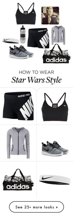 """Work out"" by jadernation on Polyvore featuring NIKE, adidas, Green Lamb and Zak! Designs"