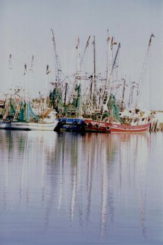 shrimp boats at St. Joe