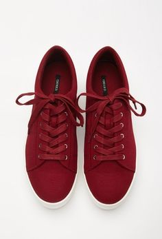 Canvas Flatform Sneakers from FOREVER 21 on Catalog Spree