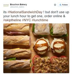 Great Twitter post from  Bouchon Bakery in New York, NY / Sympathique post Twitter de Bouchon Bakery à New York, NY https://twitter.com/bouchon_bakery/status/661563680652292096
