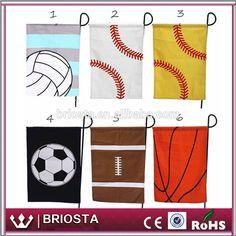 Wholesale Monogram Baseball Sport Garden Flag #baseball, #banner