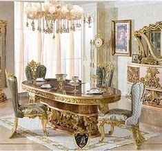 เฟอร์นิเจอร์หรู,Luxury Furniture Thailand ,ห้องนอนหรู,โซฟาหรู,Luxury Furniture T Decor, Furniture, Room, Luxury Dining Room, Table, Home Decor, Luxury Dining, Dining Room, Dinning Set