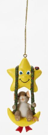 Charming Tails Put the Twinkle in the Season Ornament